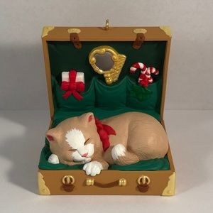 Hallmark Cat Naps Series Fourth Ornament